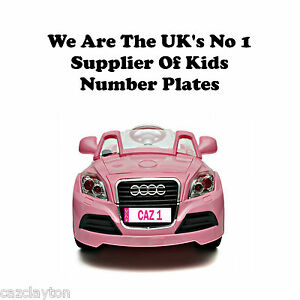 PERSONALISED-NUMBER-PLATE-FOR-KIDS-RIDE-ON-CAR-IN-PINK