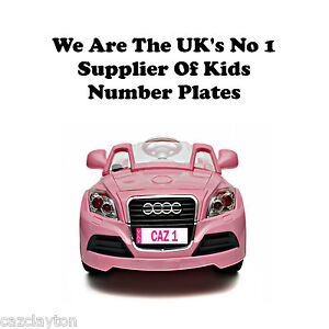 PERSONALISED-NUMBER-PLATE-FOR-KIDS-RIDE-ON-CAR-034-IN-PINK-034