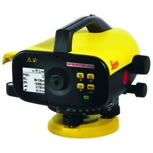 Sprinter-150-Electronic-Level-Package-with-METRIC-Staff