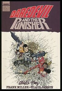 Daredevil-and-the-Punisher-Child-039-s-Play-Trade-Paperback-TPB-Frank-Miller-art-1st