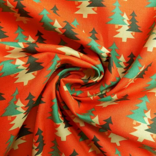 Fat Quarters Fabric Freedom Camping Craft Cotton Tents Trees Flowers