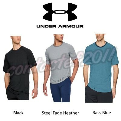 Under Armour Mens Recovery Sleepwear Elite Short Sleeve