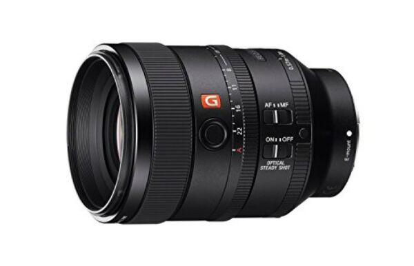 Brillant Sony Simple Focus Objectif Fe 100 Mm F 2. 8 Stf Gm Oss E-mount 35 Complet Taille