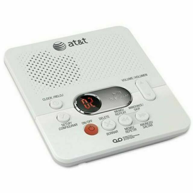 at and t 1740wh digital answering system