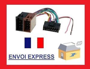 Cable-adaptateur-faisceau-ISO-pour-autoradio-SONY-16-pin-connecteur