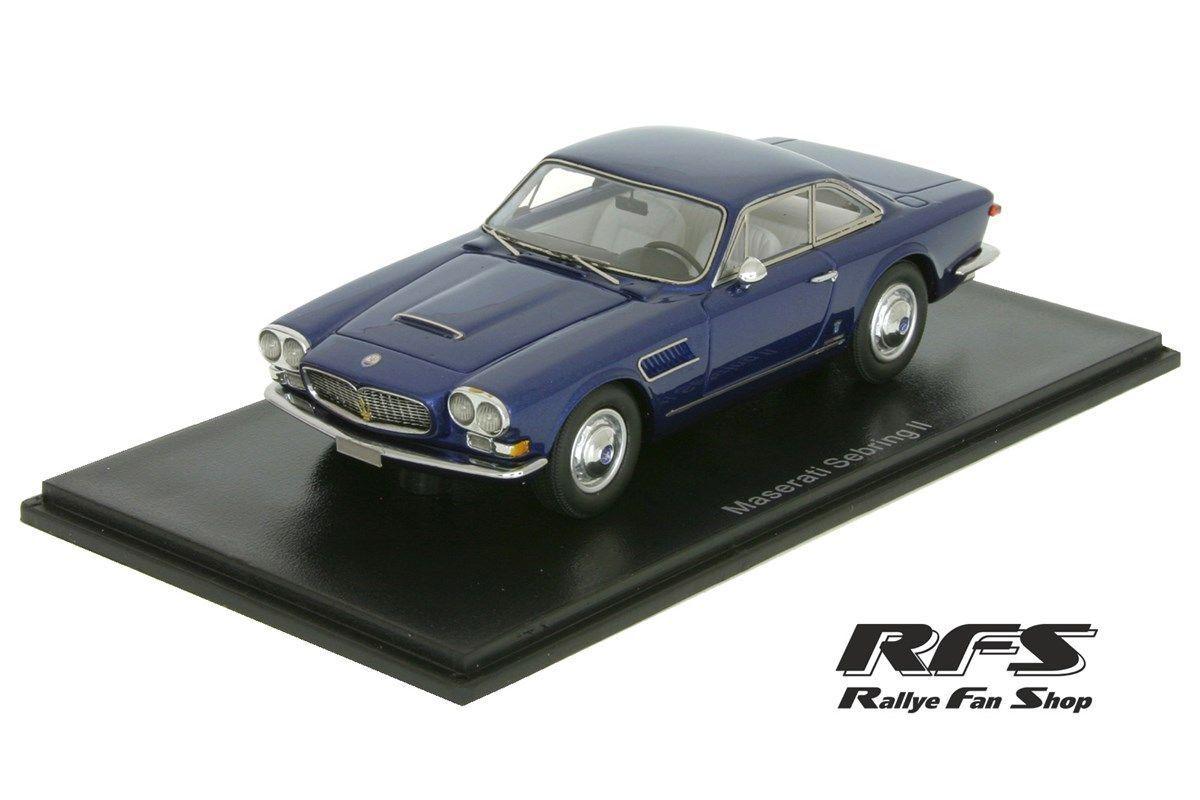 Maserati Sebring II 1962 Metallic bluee 1 43 NEO SCALE MODELS 45643 NEW