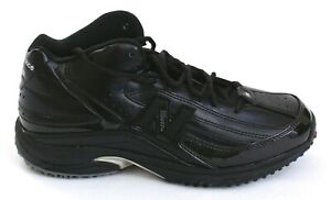 Black Mid Cut Football Turf Shoes