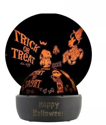 Peanuts Halloween Lightshow Shadowlights Tabletop Ebay