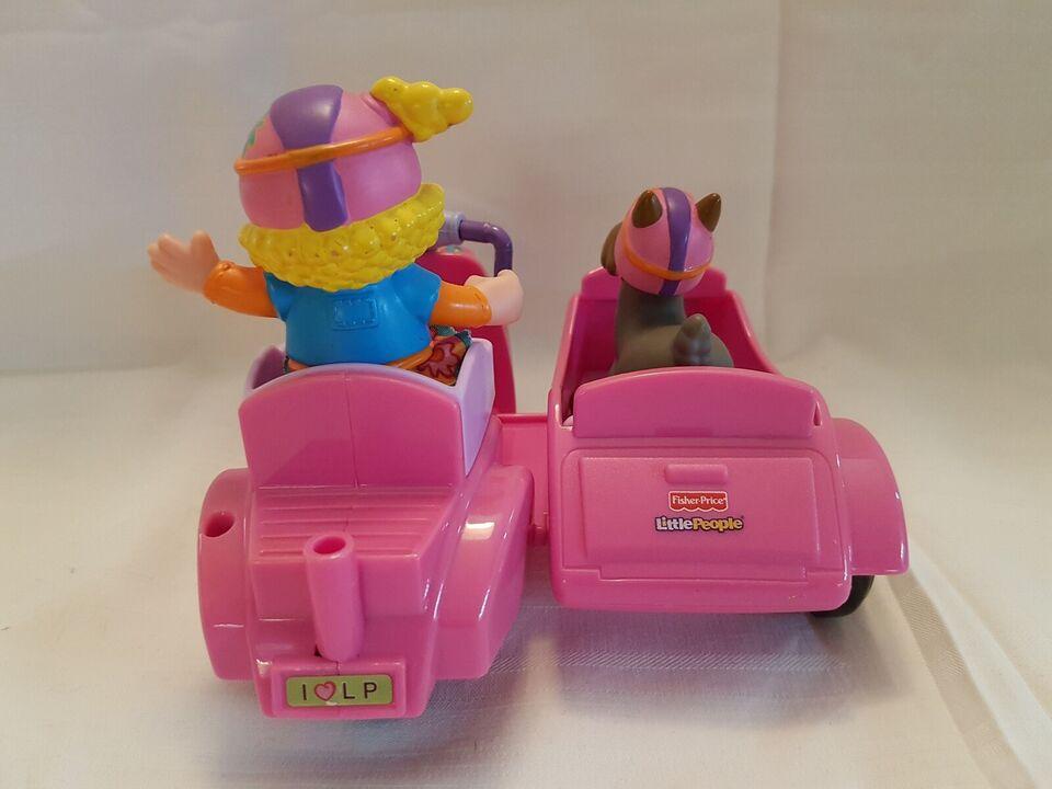 Little people, Motorcykel med sidevogn, 3 år