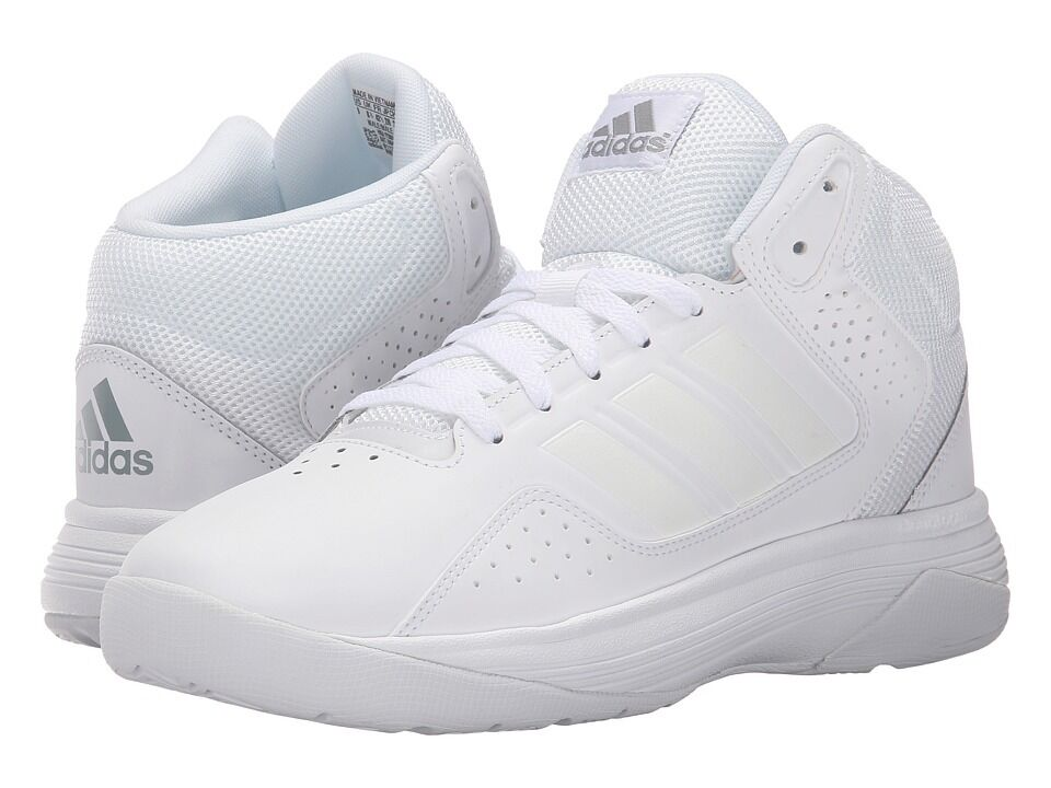 Adidas Cloudfoam Ilation Basketball shoes in White in Sizes 6.5 to 15