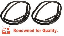 Land Rover Defender PAIR 2ND ROW DOOR RUBBER SEALS 110 STATION WAGON LH RH 130