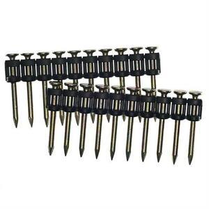"SENCO Concrete Nails 3/4"" long x 0.109 Zinc plated pins 1000 pack - W3075YXC"