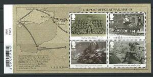 Grossbritannien-2016-Die-Post-Buero-Bei-War-1916-Miniatur-Blatt-Fein-Gebraucht