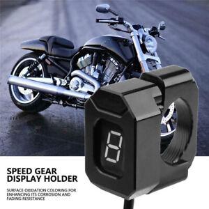 Universal-Motorrad-Ganganzeige-Halter-Montage-Halterung-Gauge-Halter-22mm-28-6mm