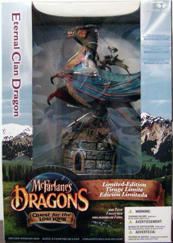 DE MCFARLANE DRAGONS DRAGON ÉTERNELLE CLAN DELUXE FIGURINE DRAGON BOÎTE NEW