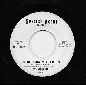Syl Johnson - Do You Know What Love Is / The Love I Found In You (Soul, 45) 200