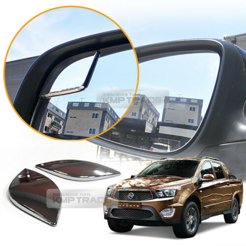 Wide Angle Rear View Blind Spot Side Mirror for SSANGYONG 2014-17 Actyon Sport