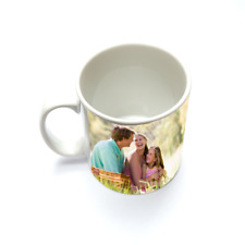 PERSONALISED CUSTOM PRINTED Tea Coffee Mug cup with your image photo text logo