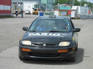 Mazda 323 Coupé de course-rallye