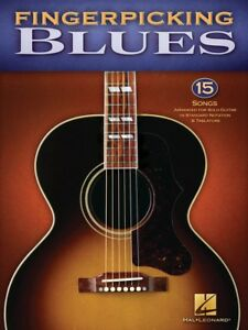 Details about FINGERPICKING BLUES SOLO GUITAR TAB SHEET MUSIC SONG BOOK
