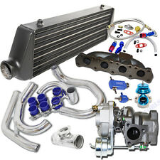 Turbo Kit K04-015 Turbo+Black Intercooler for 00-05 Volkswagen Golf/ Jetta 1.8T