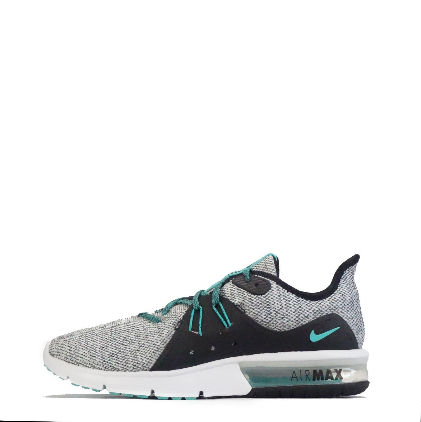 Nike Air Max Sequent 3 Mens Trainers White   Hyper Jade