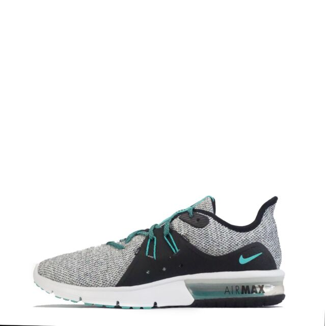 on sale bf3d2 32031 Nike Air Max Sequent 3 Mens Trainers White   Hyper Jade