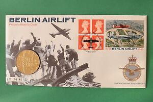 1999 50th Anniversary Berlin Airlift Cover amp Medallion SNo44097 - <span itemprop=availableAtOrFrom>Thetford, United Kingdom</span> - Items returned in the same condition as dispatch will have a full refund. Most purchases from business sellers are protected by the Consumer Contract Regulations 2013 which give you the  - Thetford, United Kingdom