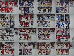 2019-20-Upper-Deck-Hockey-Series-2-Base-Team-Set-Hockey-Cards-U-Pick-From-List