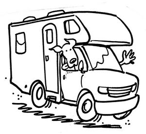 Image Is Loading Unmounted Rubber Stamps RV Travel Vacation Family
