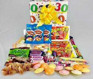 Image Is Loading Vegan BIRTHDAY Retro Sweet Treats Hamper Gift Box