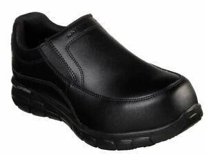 Skechers Toe Alloy Electrical Hazard Synergy Women's 77262blk wapeeco L4qRAj35