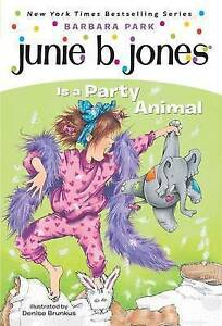Junie-B-Jones-Is-a-Party-Animal-Park-Barbara-Very-Good-Book