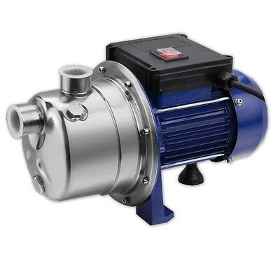 1HP Jet Pump Water Pressure Booster Self Priming 16GPM Stainless Shallow NEW