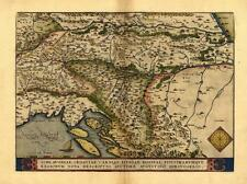 Large A1 Yugoslavia Austria Croatia Bosnia Reproduction Vintage Old Antique Map