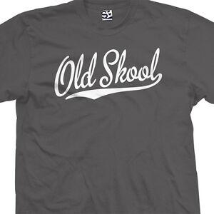 f09c47f4 Old Skool Script Tail Shirt - School Guys Men Rule Cool Tee - All ...