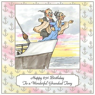 Handmade Personalised Anniversary Card Fish Fishing Sport Angleing Angler