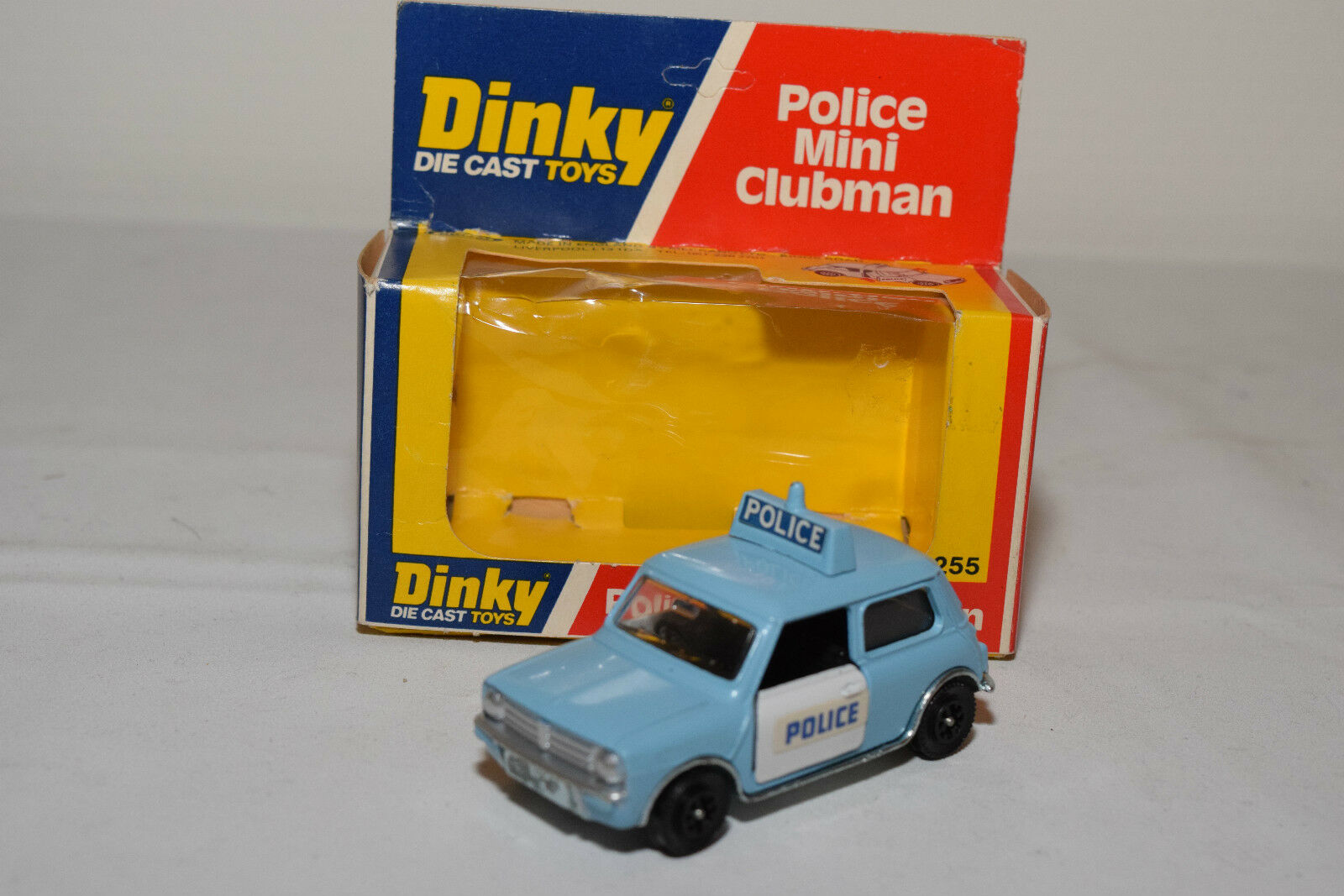 DINKY TOYS 255 MINI CLUBMAN POLICE MINT BOXED RARE SELTEN
