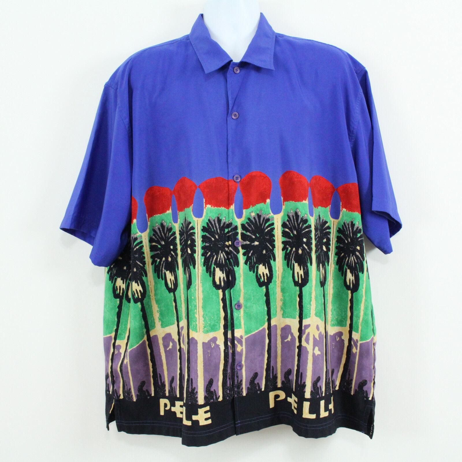 Pelle Pelle Marc Buchanan Hawaiian Men's Shirt Size XL
