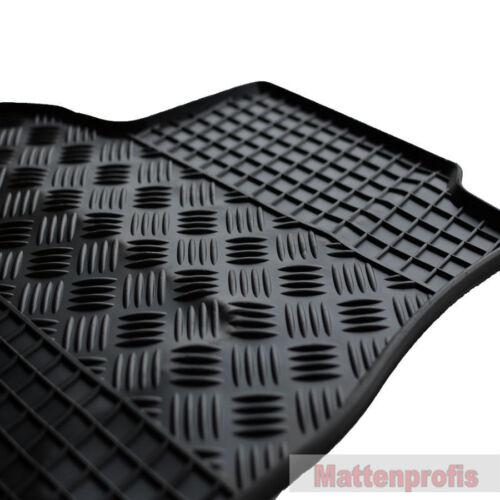 Mp alfombrillas de goma goma tapices komplettauslage para VW t5 furgoneta año 2003-2015