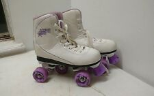 Roller Derby Skates White Youth Size 5 Vintage