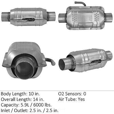 Catalytic Converter-Universal Rear Eastern Mfg 70423