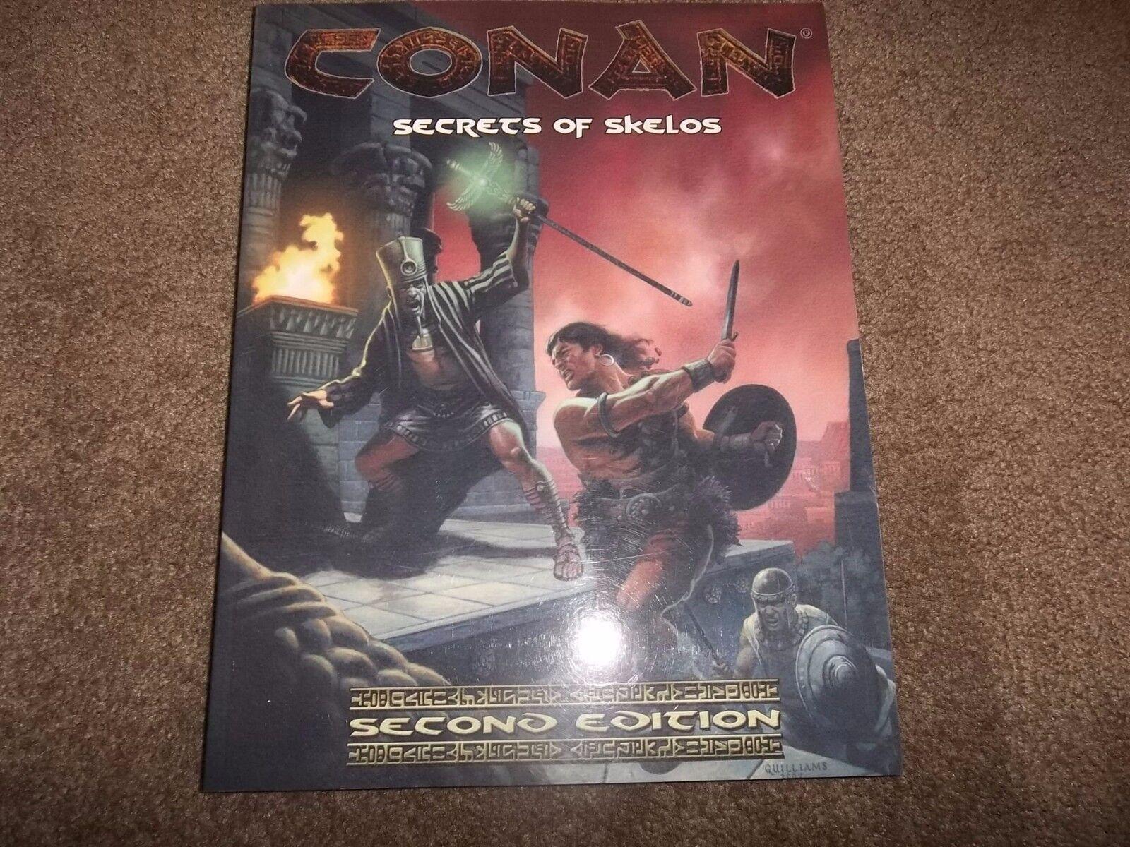 D&D D20 Mangosta Conan cohete propulsado Granada 2nd Ed secretos de Skelos