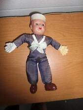 "Japan ~ Vintage 8"" Celluloid US Navy Sailor Doll 1940"