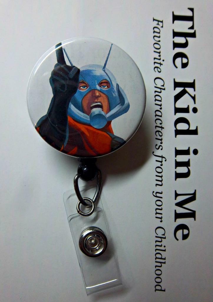 ANT MAN Comic Superhero Retractable Reel ID Badge Holder YOU PICK REEL