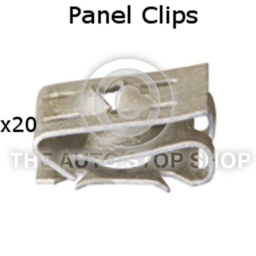 Panel Clip Trim Clip sedile Range CORDOBA ALTEA EXEO ETC Pacco di 20 parte 11176se