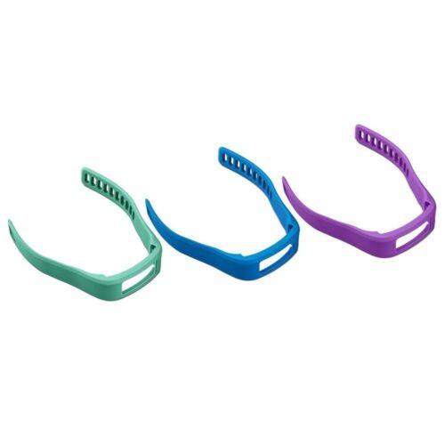 3 Pack GARMIN Vivofit Replacement bands - Large NEW Purple, Teal, Blue