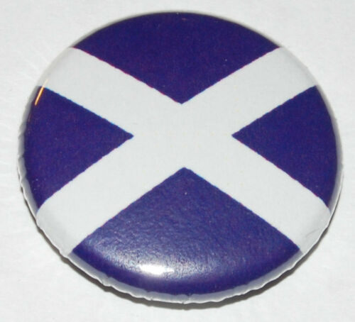 1 inch Scottish SNP Independence Saltire Scotland Flag Button Badge 25mm