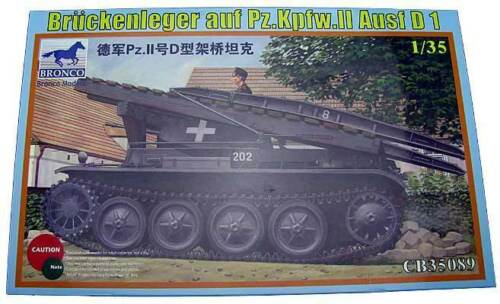Bronco 1:3 5 35089: Bridgelayer on pz.kpfw.ii D1
