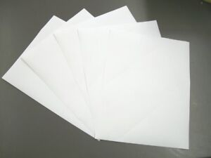Details about Avery Sticker Paper 5 Pcs Full Sheet 8 1/2 x 11 White